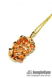 SAHRIVAR(シャフリーヴァル)INRI Enameled Necklace (18K on Brass)