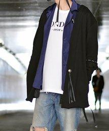 dirtytoy(ダーティートイ)Grunge Cardigan / ブラック