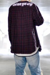 20%off! dirtytoy(ダーティートイ)Shadow Check Flannel Shirt