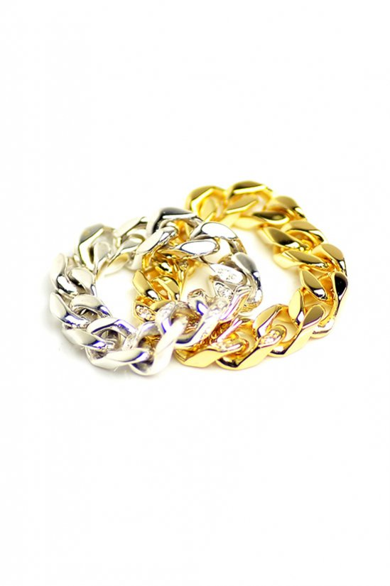 JOHNNY BUSINESS(ジョニービジネス) Chain Ring with DIA