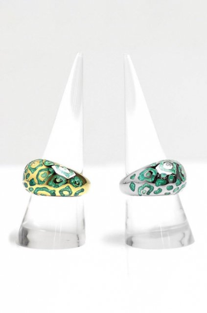 JOHNNY BUSINESS - ジョニービジネス Enameled Animal Ring / Enamel Blue