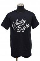 50%off!  Sixty-Eight Tokyo(シックスティーエイト)Slit T-Shirt / ブラック