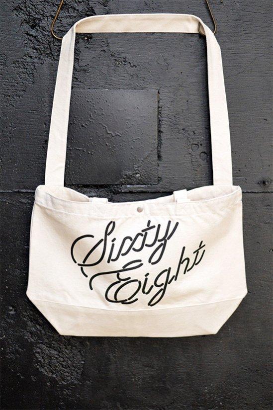 50%off!  Sixty-Eight Tokyo(シックスティーエイト)2Way Tote Bag / ベージュ