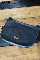 RadLad by dirtytoy (ラッドラッド)カスタム受注オーダー Paint Logo Custom Leather Hip Bag