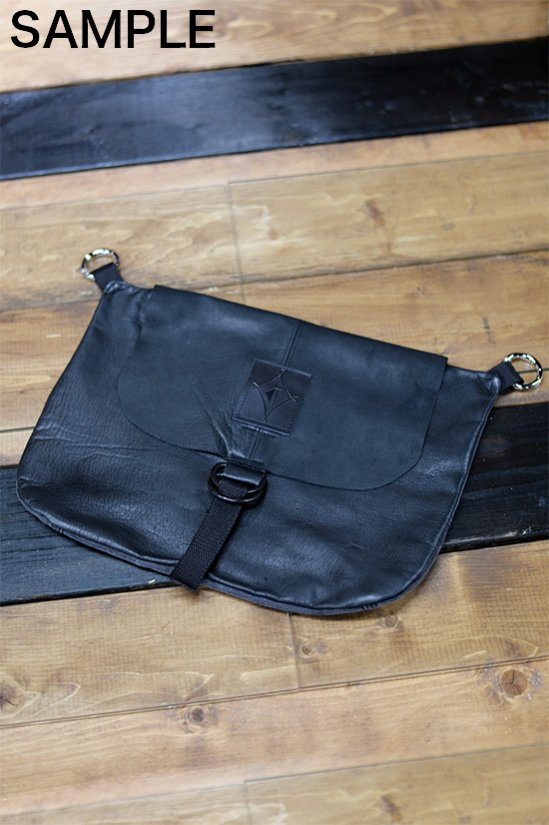 RadLad by dirtytoy (ラッドラッド)カスタム受注オーダー D-Rings Leather Custom Hip Bag