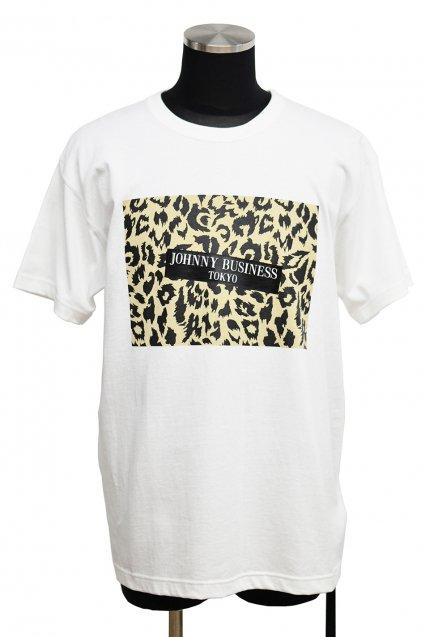 JOHNNY BUSINESS(ジョニービジネス )Enamerl Sticker T-Shirt Type ヒョウ