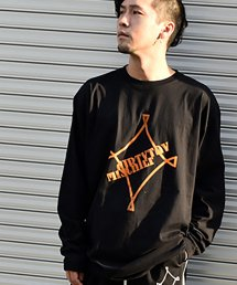 dirtytoy(ダーティートイ)Long T-Shirt FES!! ''MISCHIEF'' Long Sleeve T-Shirt
