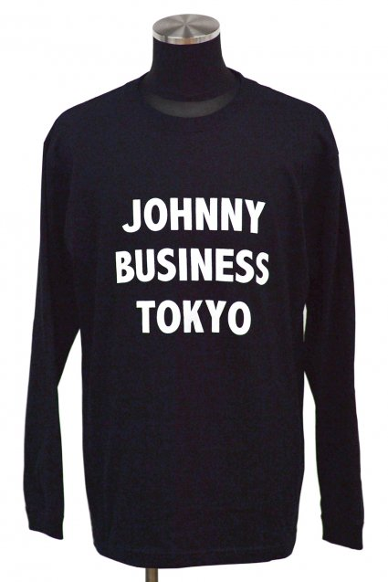 JOHNNY BUSINESS(ジョニービジネス )Long T-Shirt FES!! J.B TOKYO Long Sleeve T-Shirt