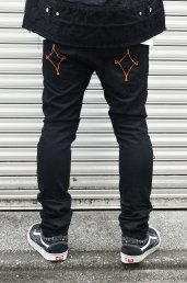 dirtytoy(ダーティートイ)Damage Denim Pants