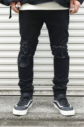 20%off! dirtytoy(ダーティートイ)Crash Denim Pants