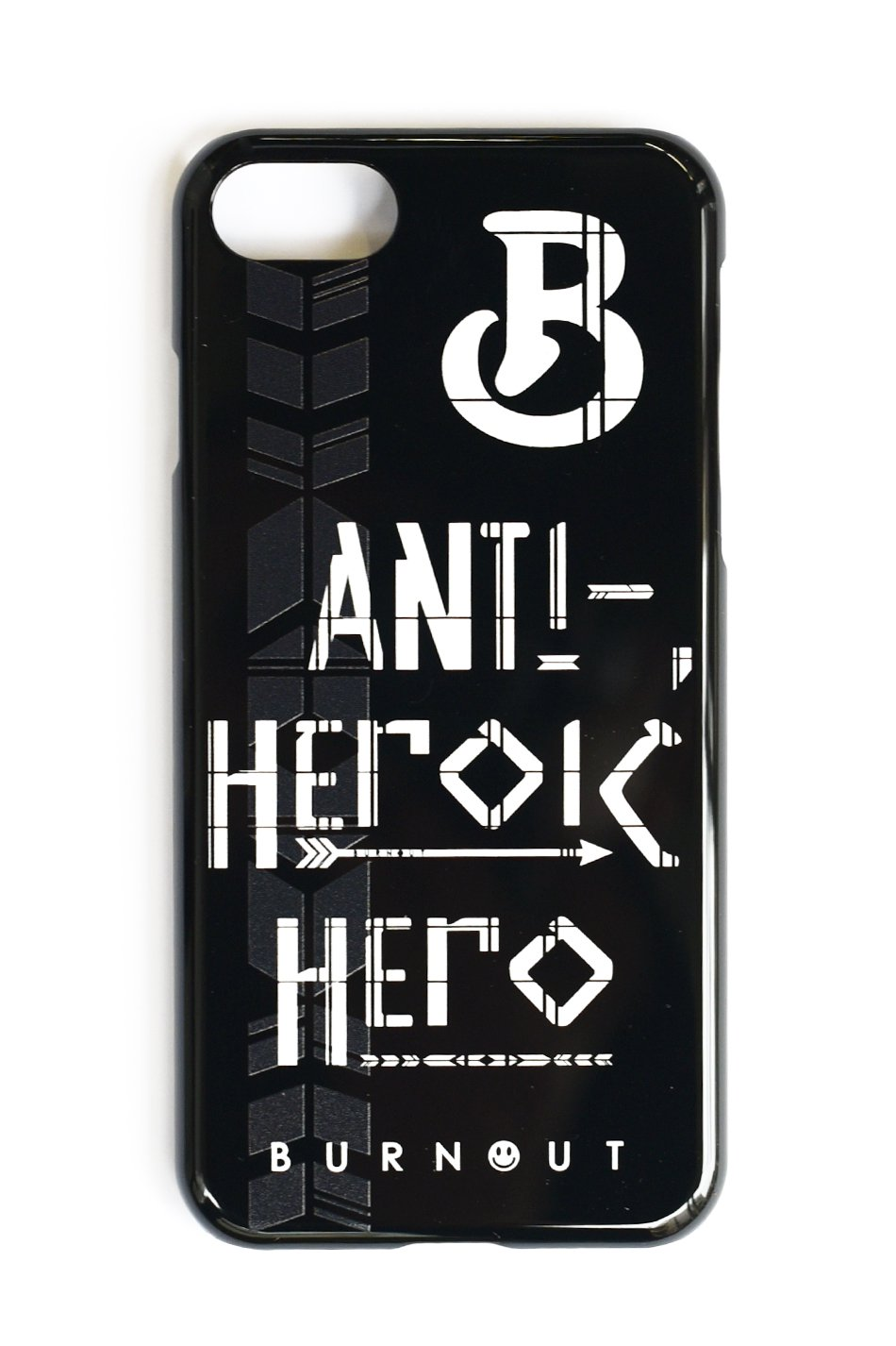 直営限定 Burnout(バーンアウト)ANTI-HEROIC HERO iPhone7 Case