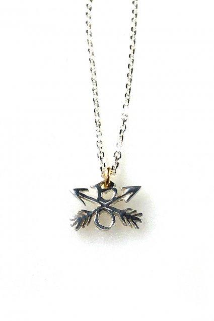 ☆在庫あり BURNOUT(バーンアウト)Crossed Arrows Charm Necklace / Silver925