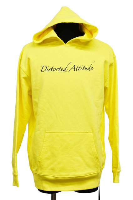 JOHNNY BUSINESS(ジョニービジネス )Distorted Attitude Hoody / Yellow