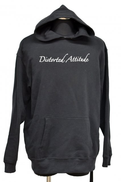 JOHNNY BUSINESS(ジョニービジネス )Distorted Attitude Hoody / Black