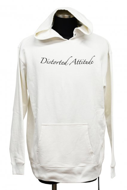 JOHNNY BUSINESS(ジョニービジネス )Distorted Attitude Hoody / White