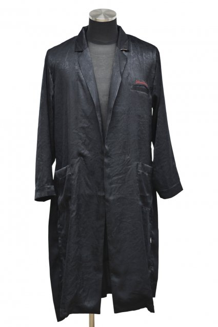 JOHNNY BUSINESS(ジョニービジネス ) HAWOL Gown Coat / Black