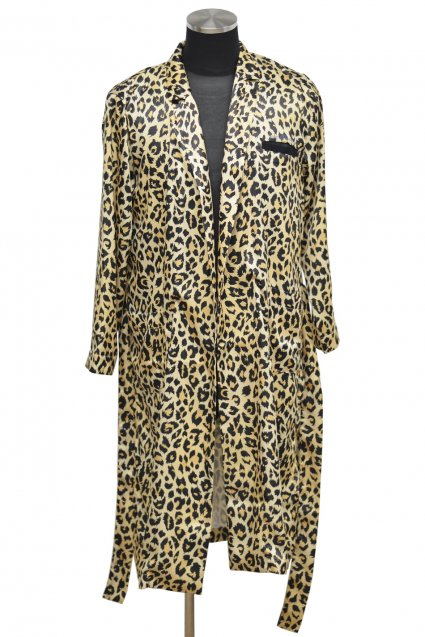 10%off! JOHNNY BUSINESS(ジョニービジネス ) HAWOL Gown Coat / ヒョウ