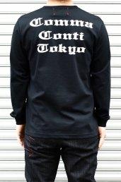 'Conti(コンマコンティ)COMMA CONTI TOKYO L/S T-Shirt / ブラック