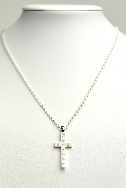 Johnny Business(ジョニービジネス) Basic Stone Necklace / Clear
