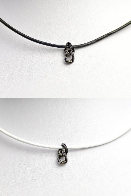 Johnny Business(ジョニービジネス) Chain Choker with DIA BLACK