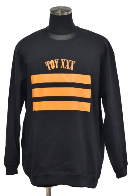 dirtytoy(ダーティートイ )TOY XXX Big Sweat Pull Over / Black