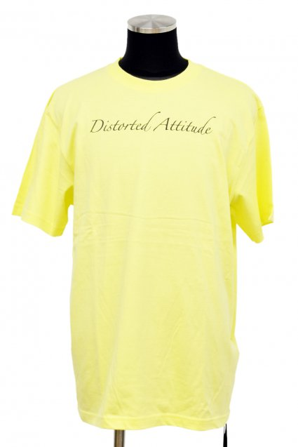 JOHNNY BUSINESS(ジョニービジネス )Distorted Attitude T-Shirt / Yellow<img class='new_mark_img2' src='//img.shop-pro.jp/img/new/icons5.gif' style='border:none;display:inline;margin:0px;padding:0px;width:auto;' />