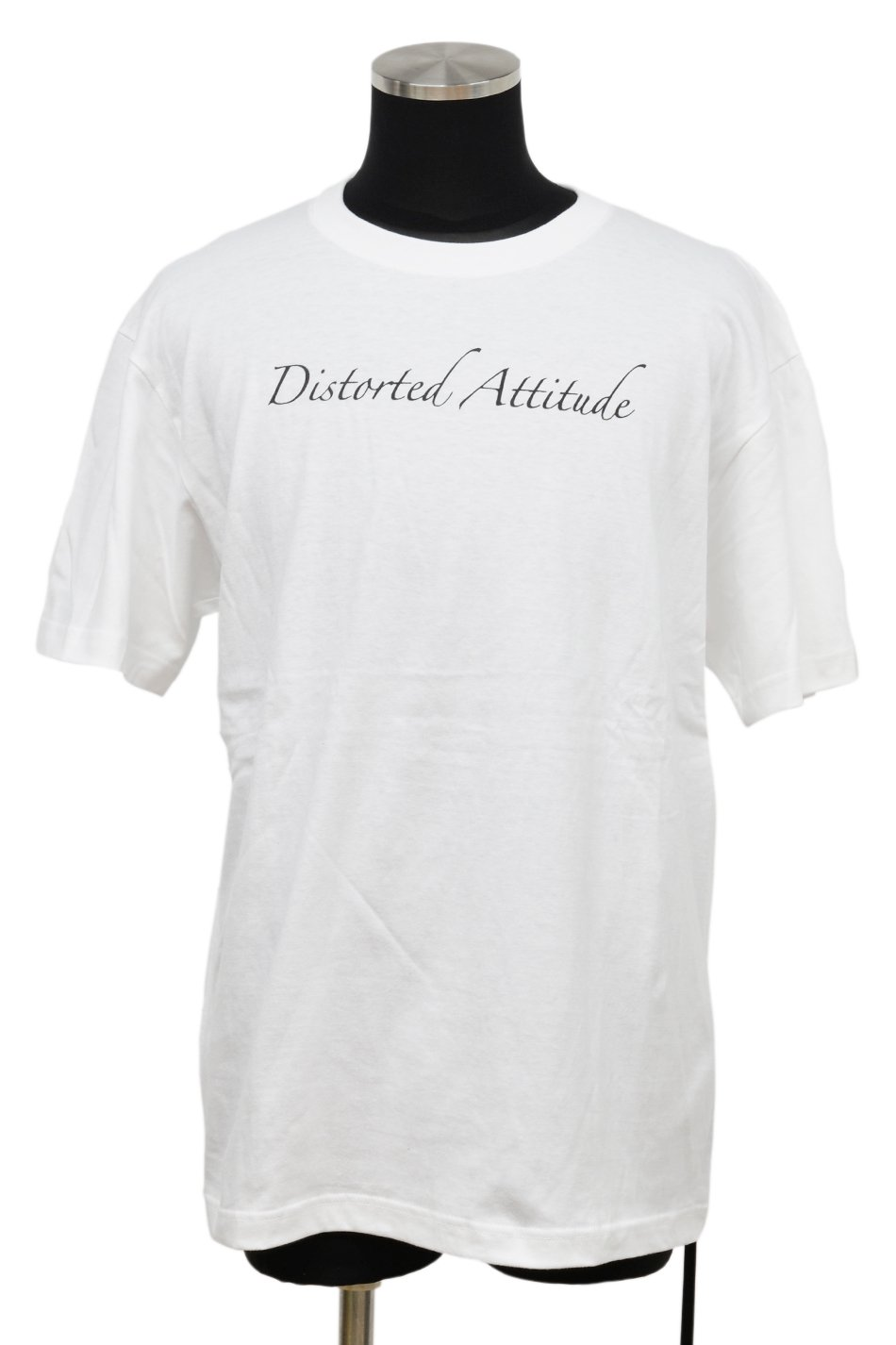 JOHNNY BUSINESS(ジョニービジネス )Distorted Attitude T-Shirt / White