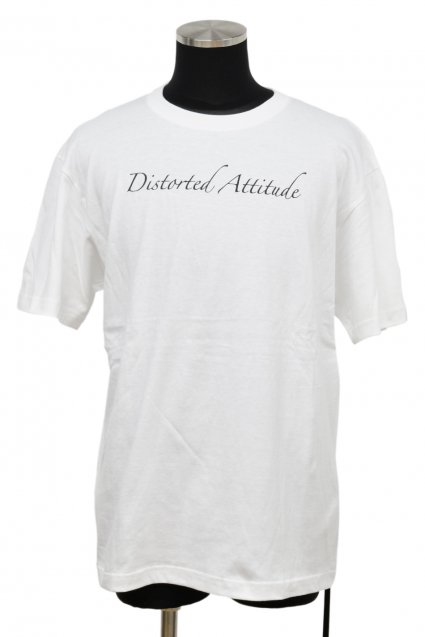 JOHNNY BUSINESS(ジョニービジネス )Distorted Attitude T-Shirt / White<img class='new_mark_img2' src='//img.shop-pro.jp/img/new/icons5.gif' style='border:none;display:inline;margin:0px;padding:0px;width:auto;' />