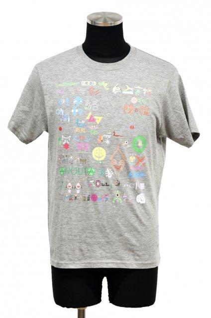 ARIGATO FAKKYU - アリガトファッキュ STORY T-Shirt / Heather Gray