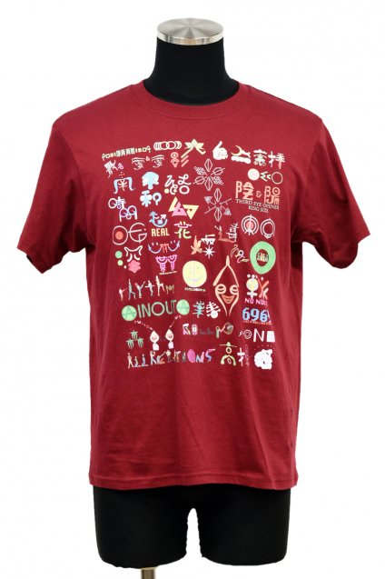 ARIGATO FAKKYU - アリガトファッキュ STORY T-Shirt / Burgundy<img class='new_mark_img2' src='//img.shop-pro.jp/img/new/icons5.gif' style='border:none;display:inline;margin:0px;padding:0px;width:auto;' />