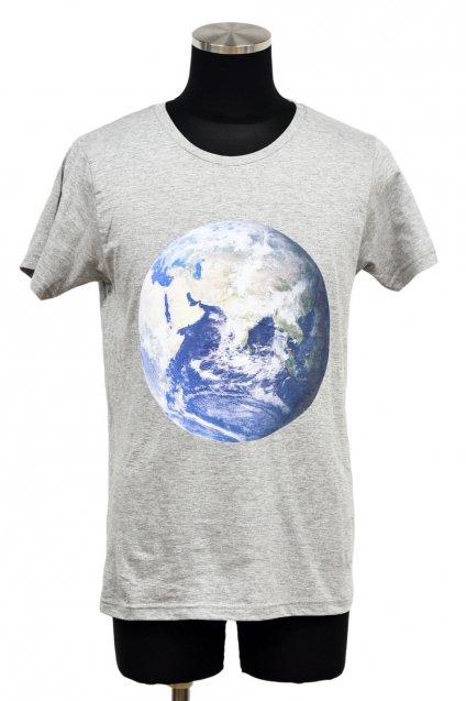 ARIGATO FAKKYU - アリガトファッキュ GAIA T-Shirt / Heather Gray