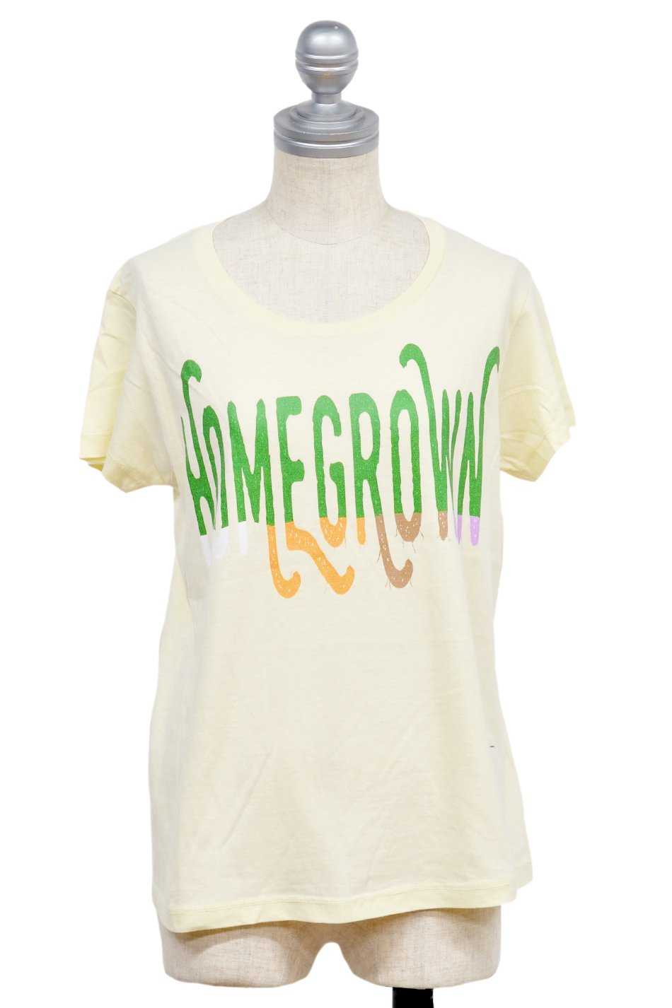 ARIGATO FAKKYU - アリガトファッキュ HOMEGROWN T-Shirt / Ladies Natural