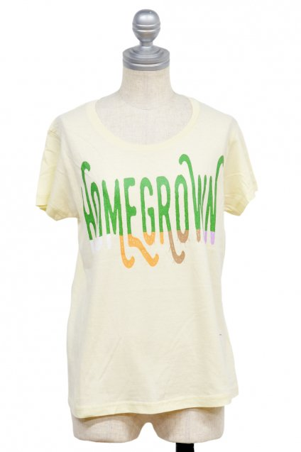 10%off! ARIGATO FAKKYU - アリガトファッキュ HOMEGROWN T-Shirt / Ladies Natural
