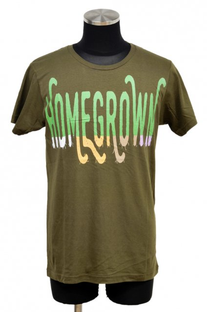 ARIGATO FAKKYU - アリガトファッキュ HOMEGROWN T-Shirt / Khaki<img class='new_mark_img2' src='//img.shop-pro.jp/img/new/icons5.gif' style='border:none;display:inline;margin:0px;padding:0px;width:auto;' />