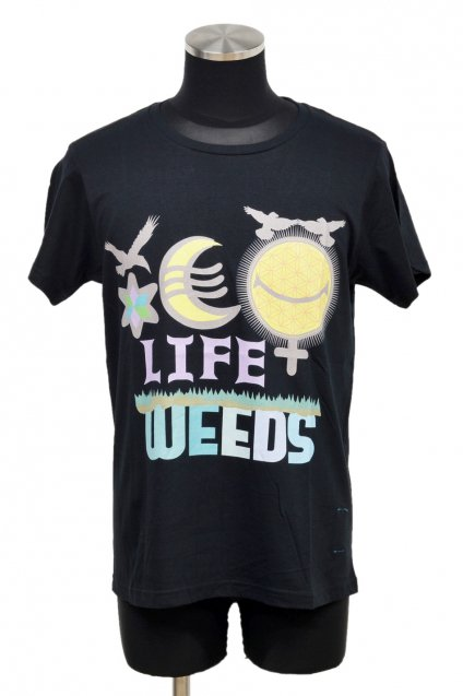 ARIGATO FAKKYU - アリガトファッキュ 雑草 LIFE WEEDS T-Shirt / Black<img class='new_mark_img2' src='//img.shop-pro.jp/img/new/icons5.gif' style='border:none;display:inline;margin:0px;padding:0px;width:auto;' />