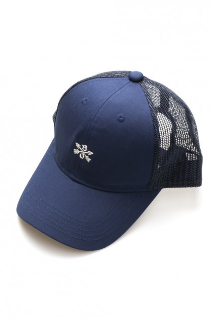 Burnout(バーンアウト)Crossed Arrows Mesh Cap / ネイビー