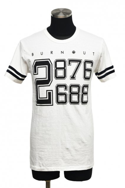 20%off! Burnout(バーンアウト)2ライン Tシャツ / ホワイト
