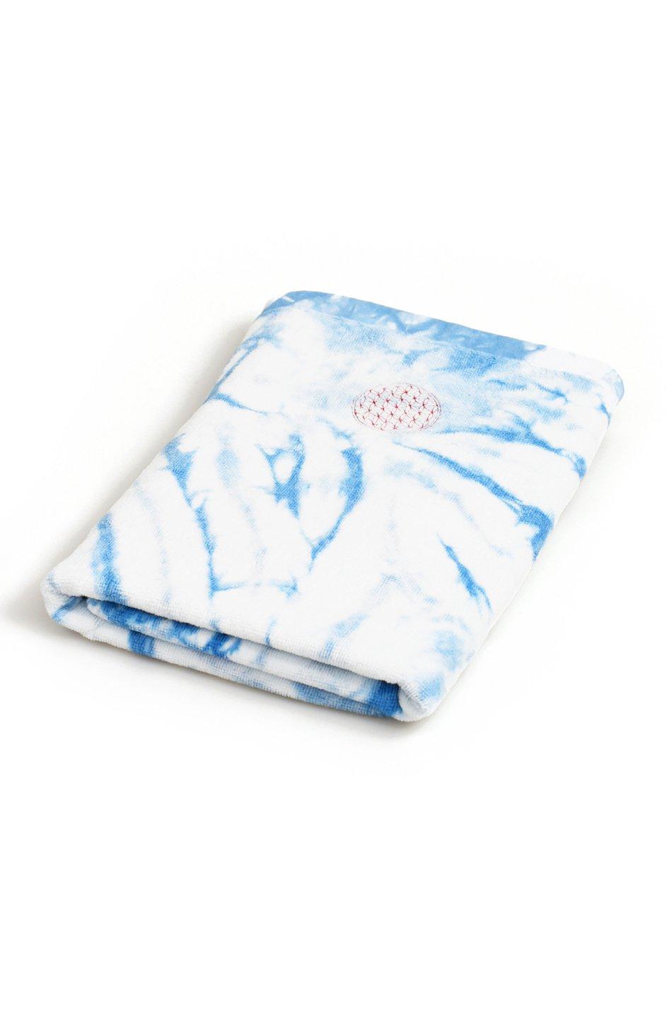 ARIGATO FAKKYU - アリガトファッキュ 藍染めタオル / 渦巻きムラ