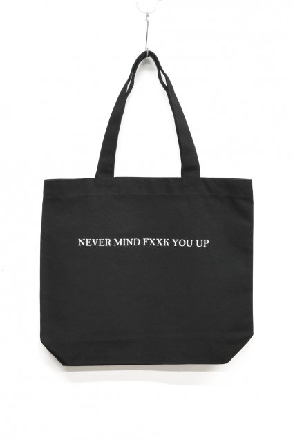 JOHNNY BUSINESS(ジョニービジネス )NEVER MIND TOTE / BLACK