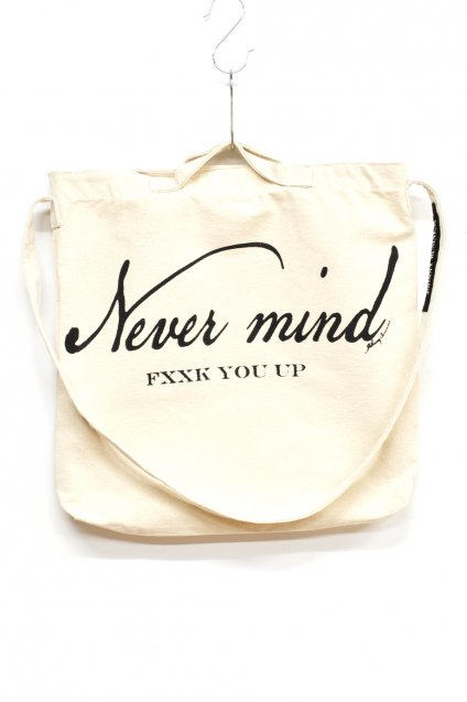 JOHNNY BUSINESS(ジョニービジネス )NEVER MIND 2WAY BAG / BEIGE