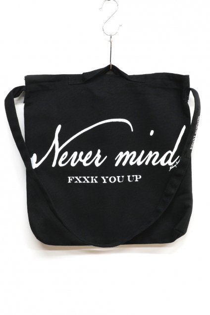 JOHNNY BUSINESS(ジョニービジネス )NEVER MIND 2WAY BAG / BLACK