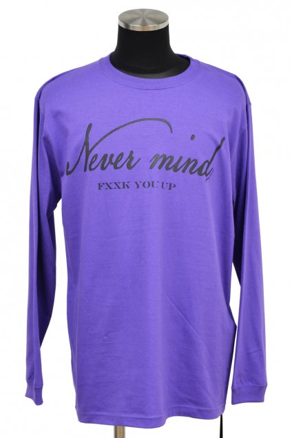JOHNNY BUSINESS(ジョニービジネス )NEVER MIND L/S / Purple