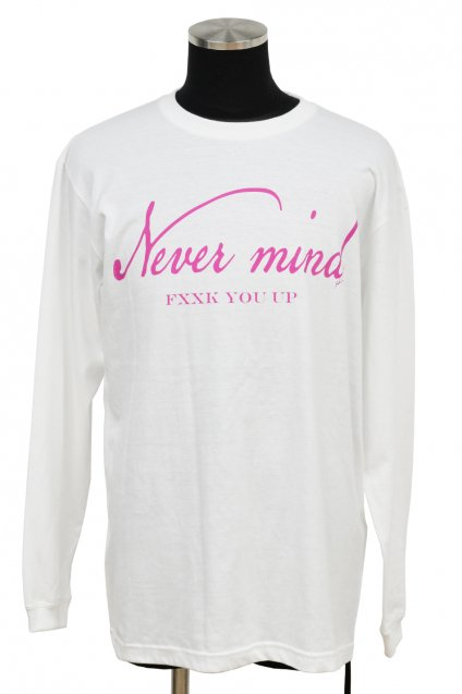 JOHNNY BUSINESS(ジョニービジネス )NEVER MIND L/S / White