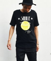 BURNOUT(バーンアウト )接結天竺 カットオフ SMILE Tシャツ / ブラック<img class='new_mark_img2' src='//img.shop-pro.jp/img/new/icons5.gif' style='border:none;display:inline;margin:0px;padding:0px;width:auto;' />