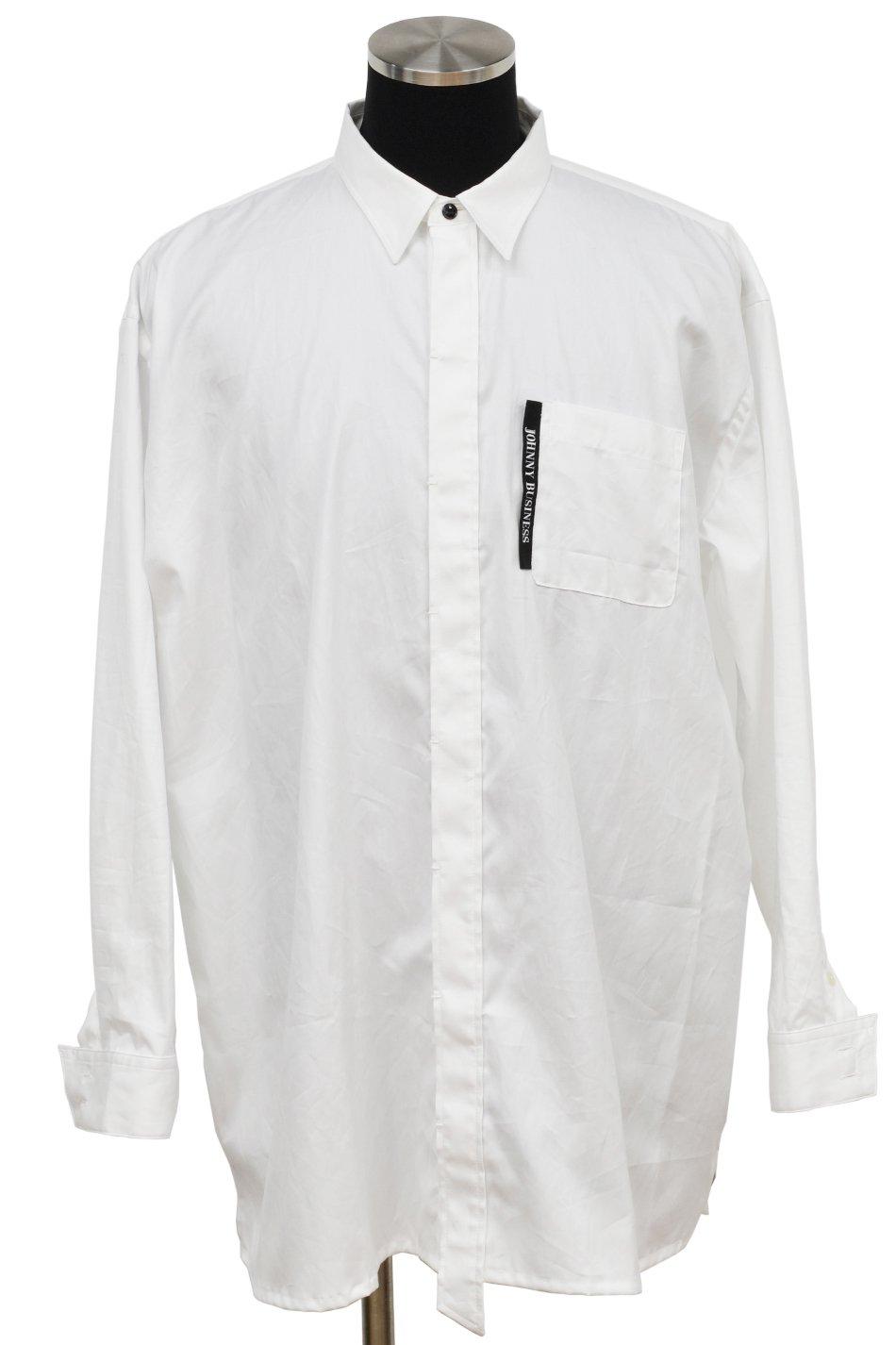 JOHNNY BUSINESS(ジョニービジネス )Plane Shirt / White