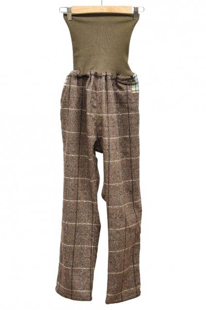 BURNOUT × ARIGATO FAKKYU  HARAMAKI Pants / Brown