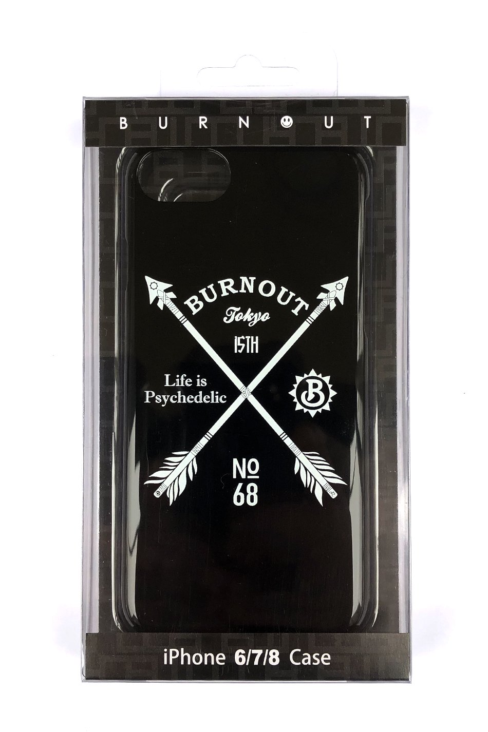 Burnout(バーンアウト)15th Anniversary iPhone Case / Black<img class='new_mark_img2' src='//img.shop-pro.jp/img/new/icons5.gif' style='border:none;display:inline;margin:0px;padding:0px;width:auto;' />