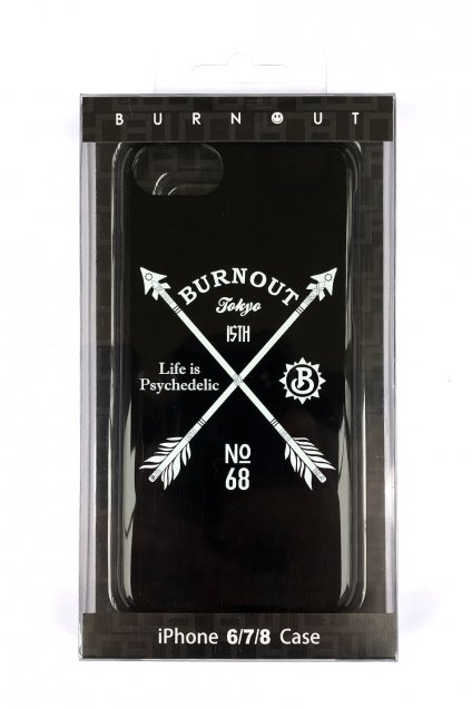 Burnout(バーンアウト)15th Anniversary iPhone Case / Black
