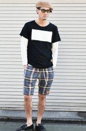 5%off! BURNOUT(バーンアウト )『CHILL』ラフィー天竺 カットオフTシャツ / ブラック