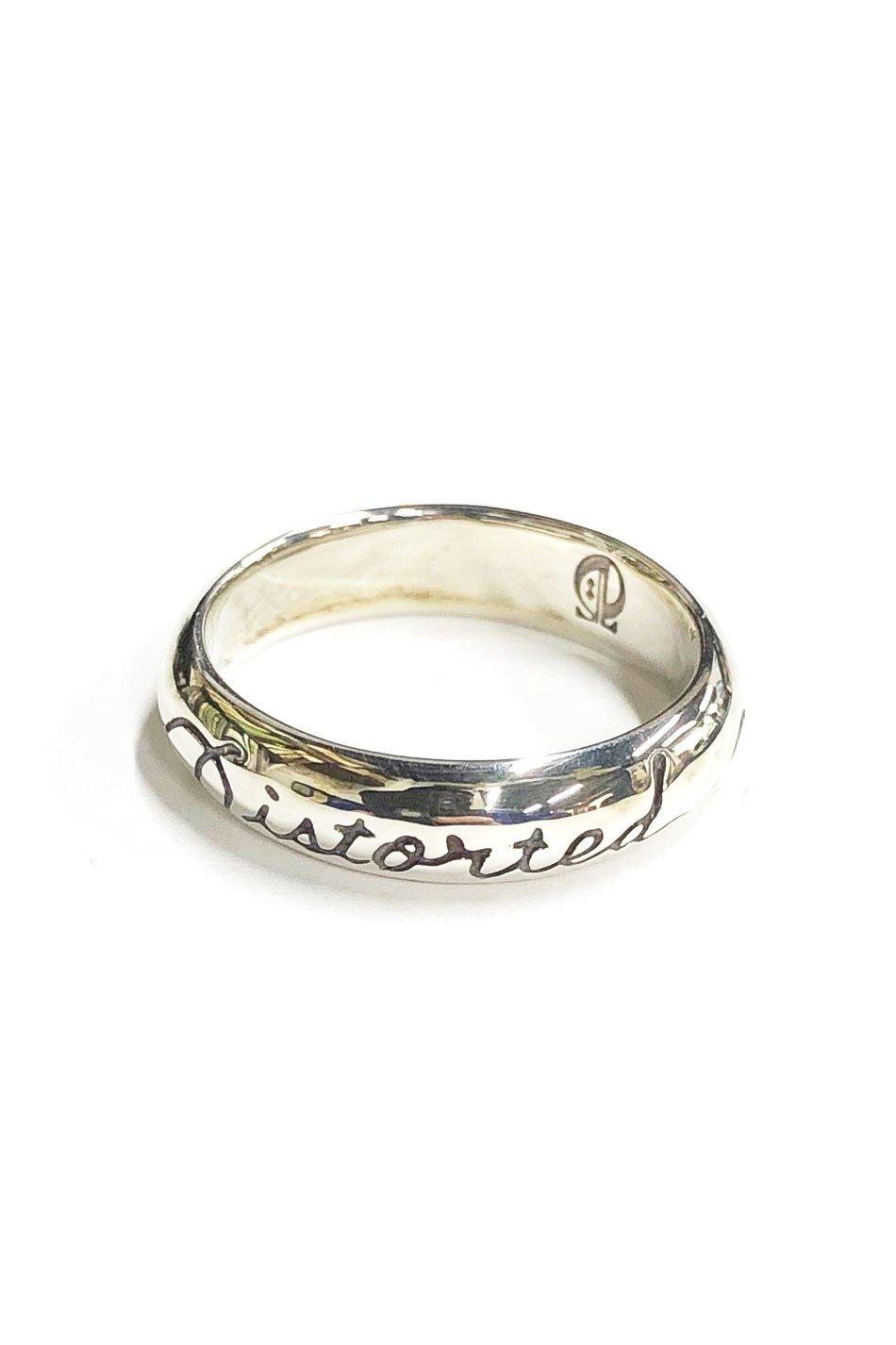 ☆在庫あり SAHRIVAR(シャフリーヴァル)Distorted Attitude Ring(Silver925)